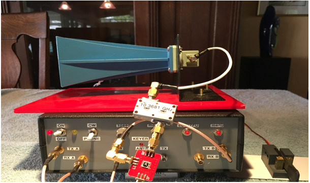 10 GHz Transceivers using the Dual Transceiver SDR – AMATEUR